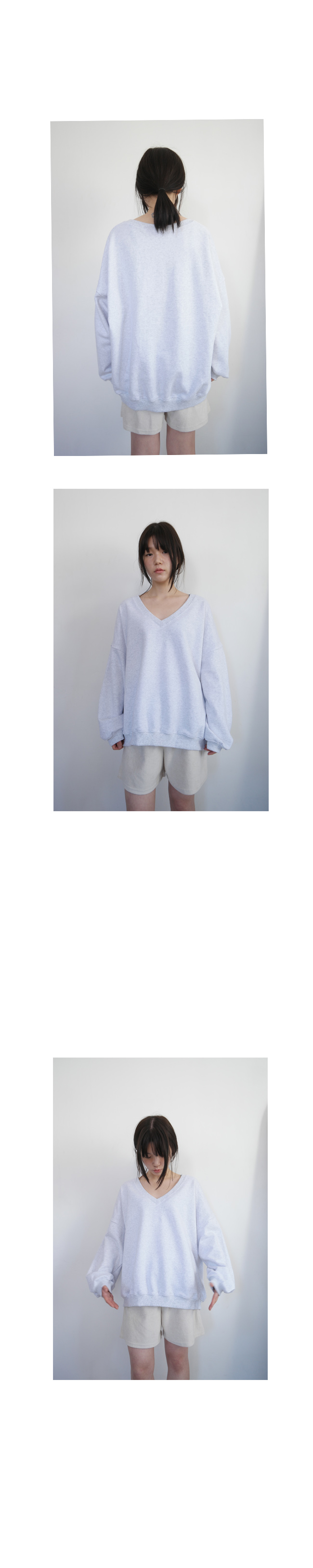 cozy V cotton mtm