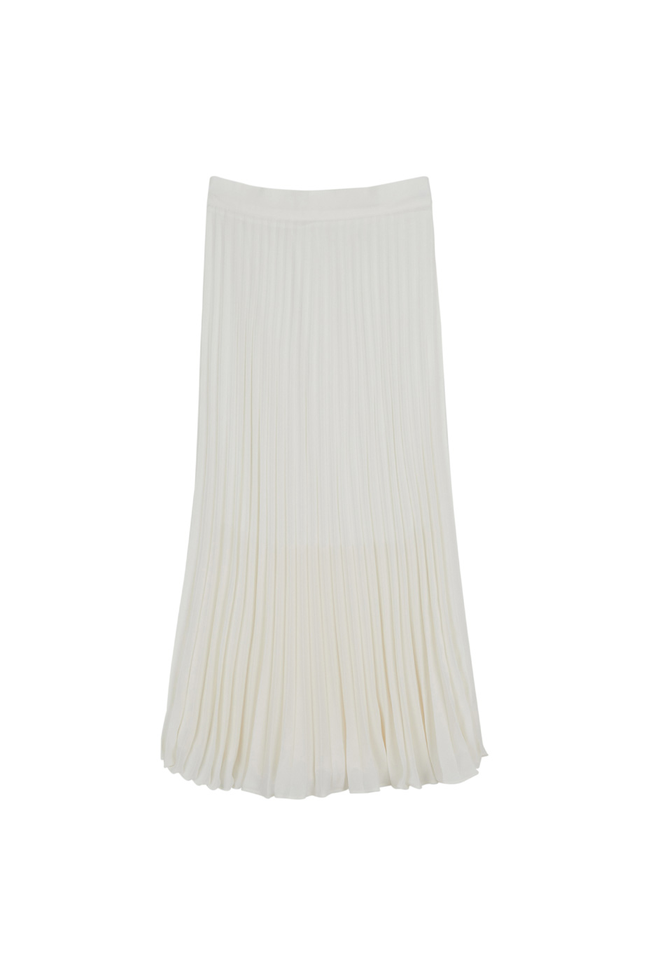 Chave pleated maxi skirt