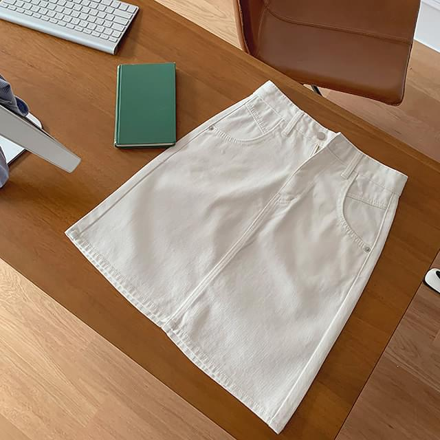 French midi skirt (cotton ver)