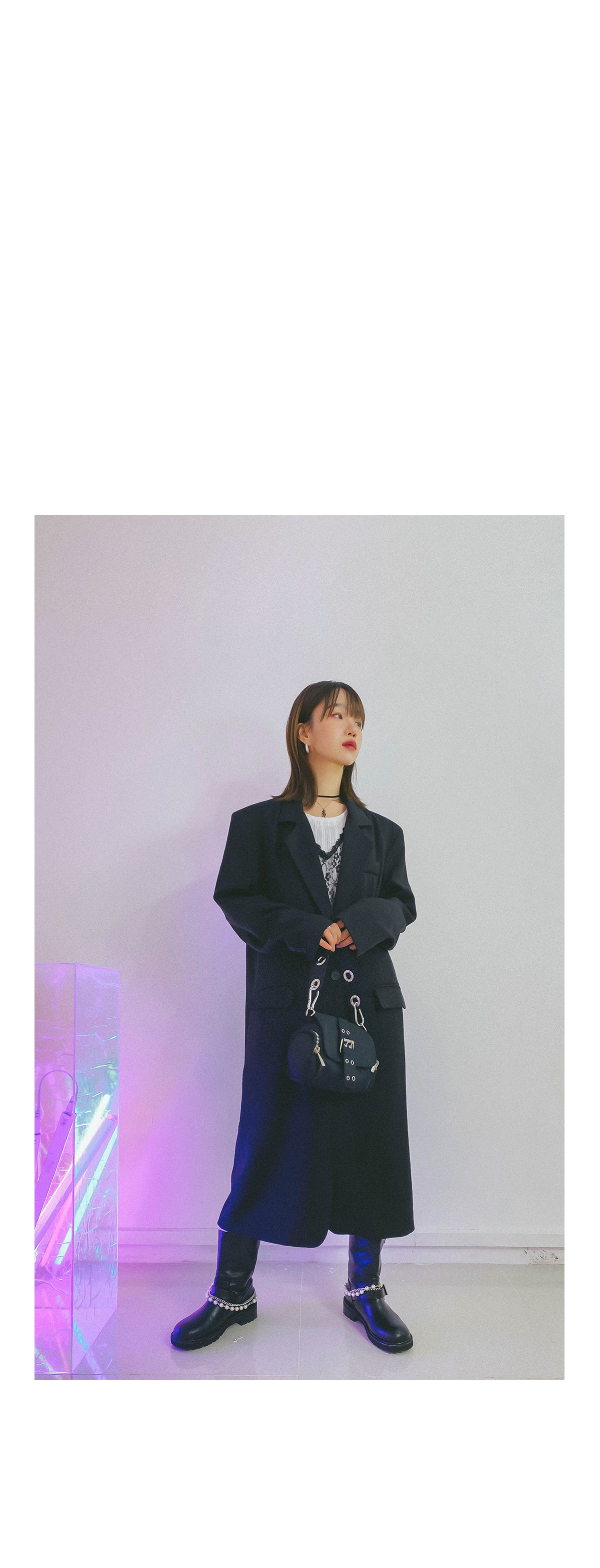 Over Lucy Long Jacket