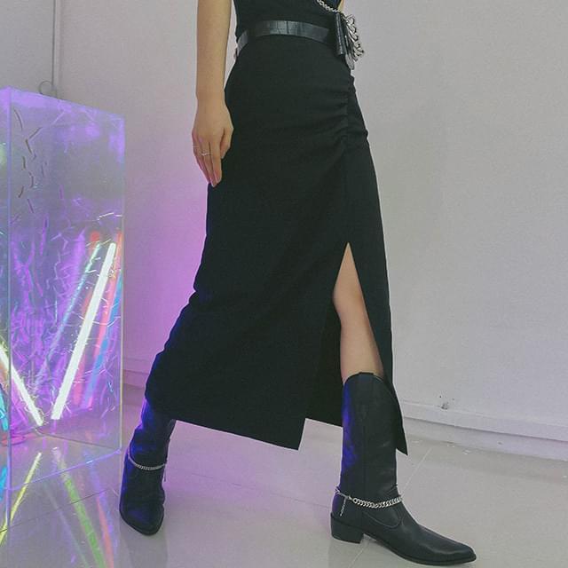 Shirred Sophie Long Skirt