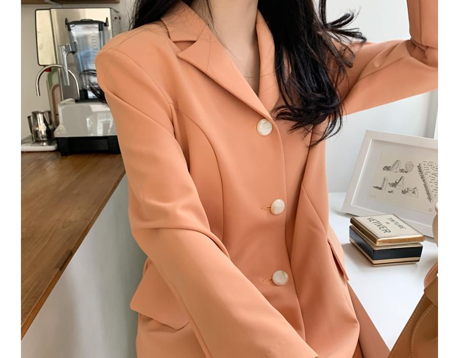 Luna Flare Long Jacket Dress