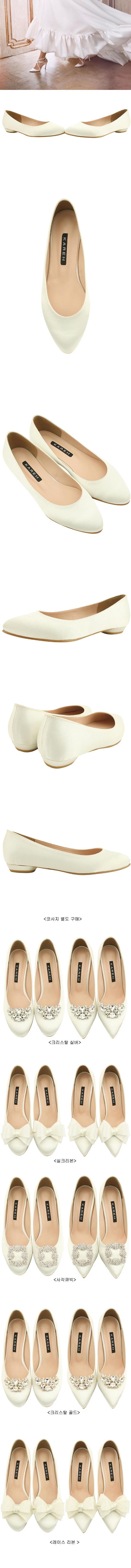 Wedding Shoes Round Toe Flat Shoes Shoes 2cm