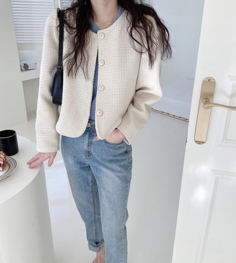 Lead tweed jacket