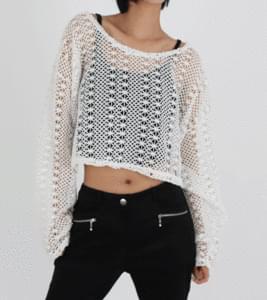 Rouge Mesh Net Knitwear