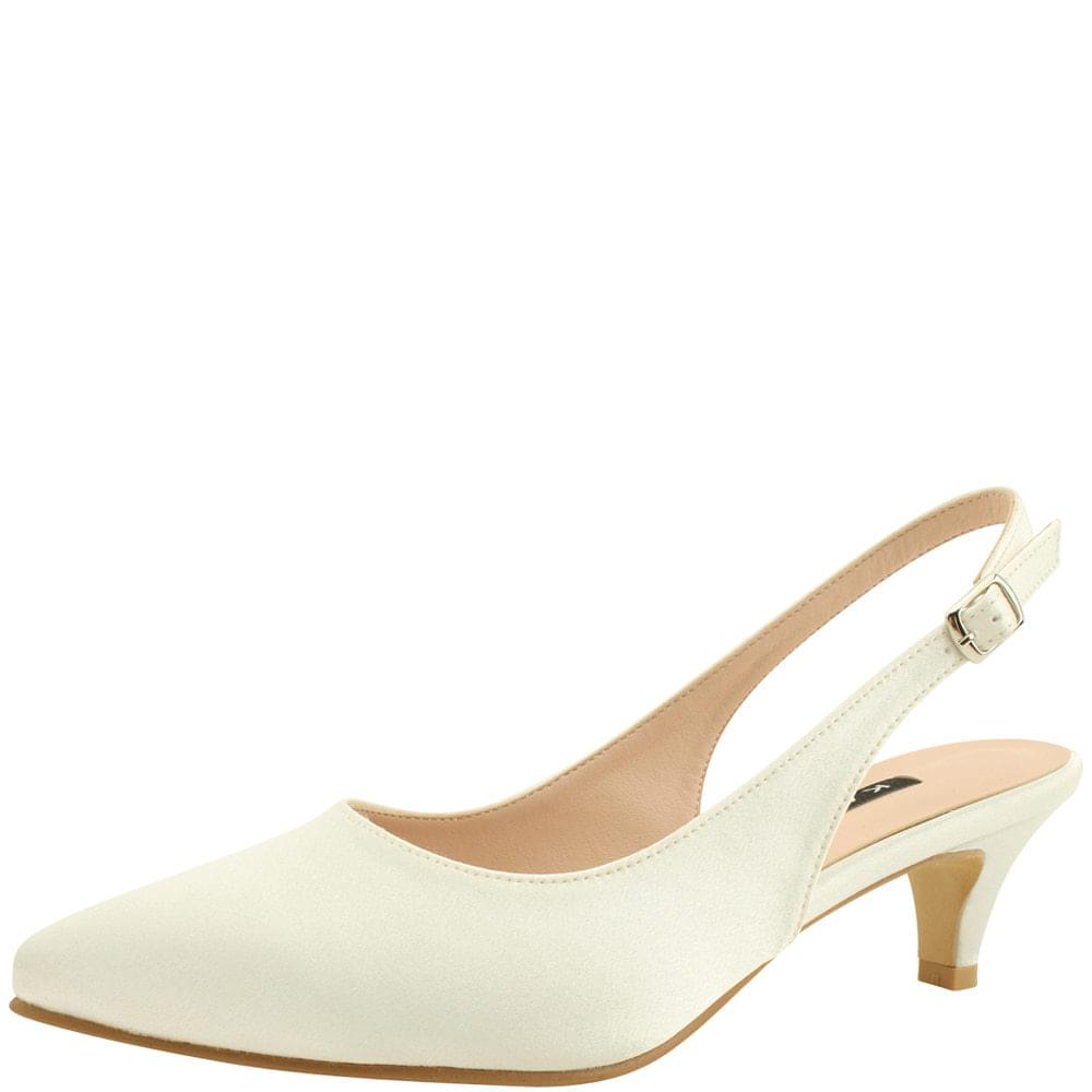 Wedding Shoes Stiletto Sling Bag Middle Heel 5cm