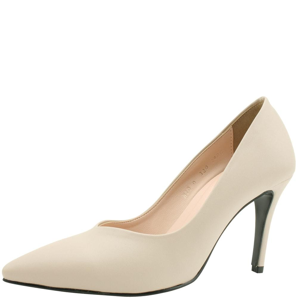 Slim Stiletto High Heels 9cm Light Beige