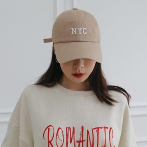 NYC embroidery cap