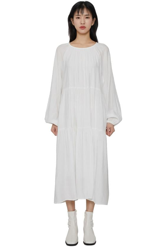 Alice flared maxi dress