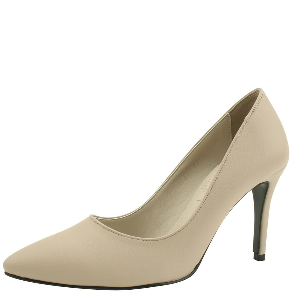 Stiletto high heel simple shoes 9cm straight line