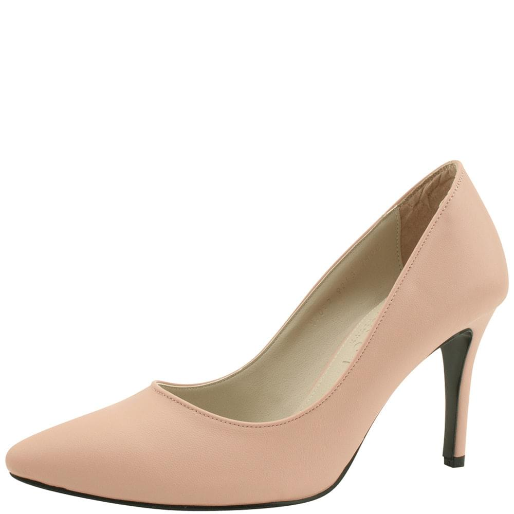 Stiletto high heels simple shoes 9cm pink