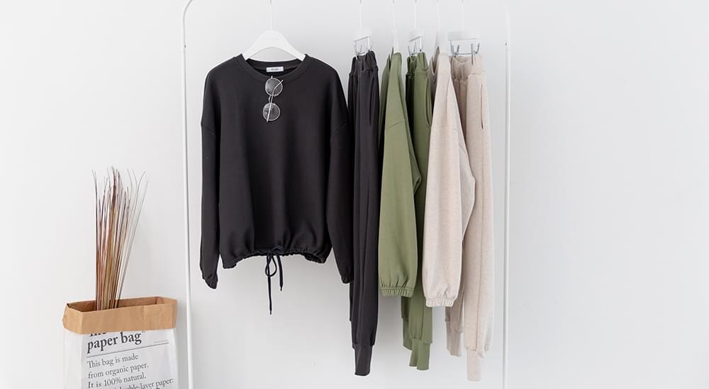 Daily Sweatshirt string & Pants Set # 92451