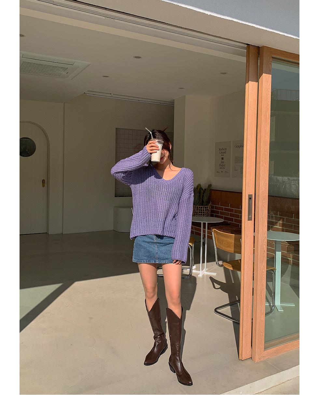 And Denim Pants Skirt