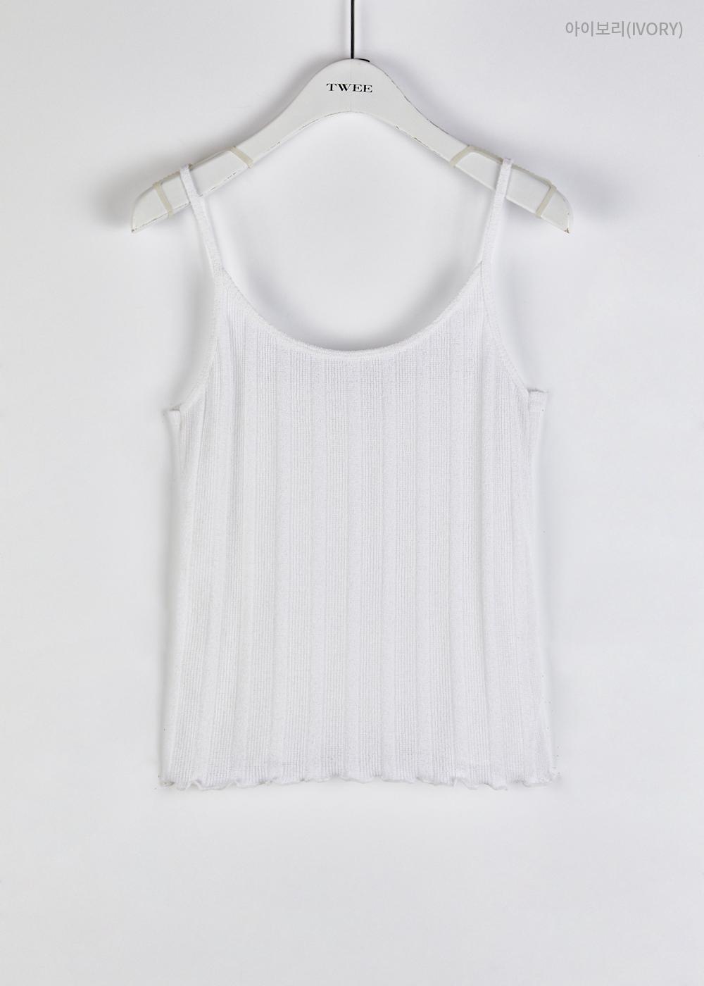Lumming Knitwear Strap Sleeveless