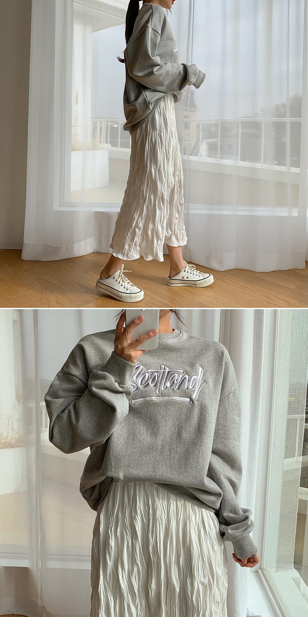 Scott embroidery Sweatshirt