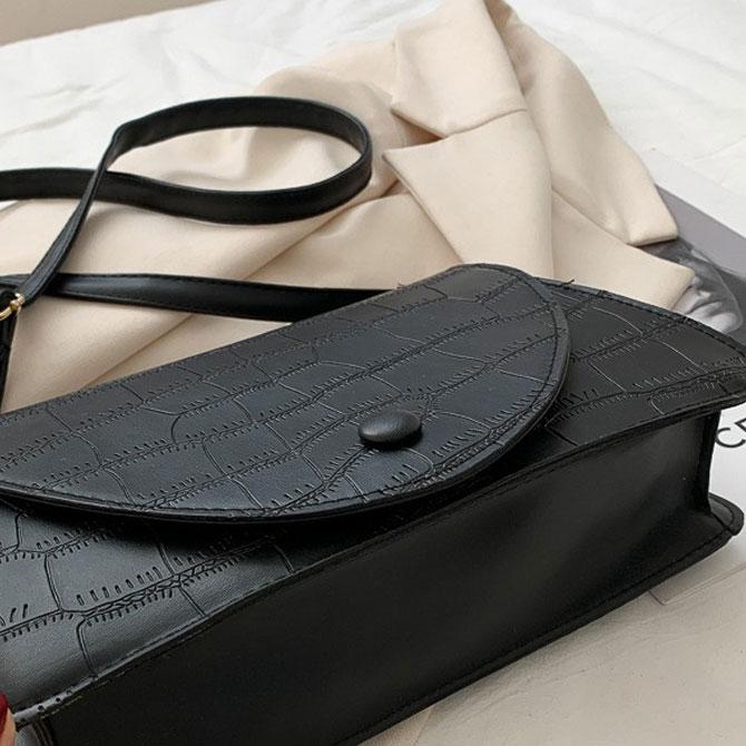 Trendy Soft Line Luxury Shoulder Bag