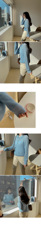 Alpha Wool Collar Knitwear-3color