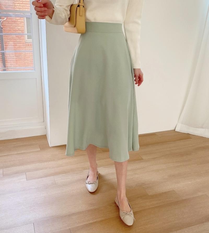 Spring Spring Flare Skirt