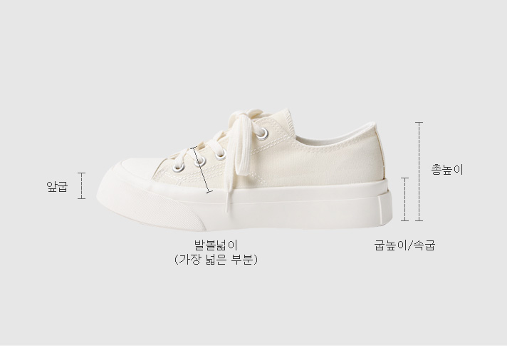 Sneakers 4cm taller than expected