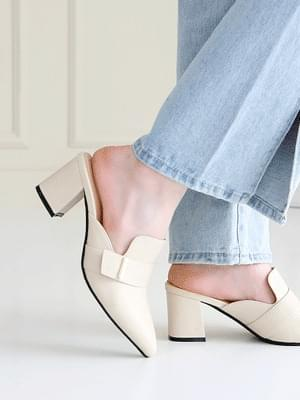韓國空運 - Remine Mule Slippers 6cm 涼鞋