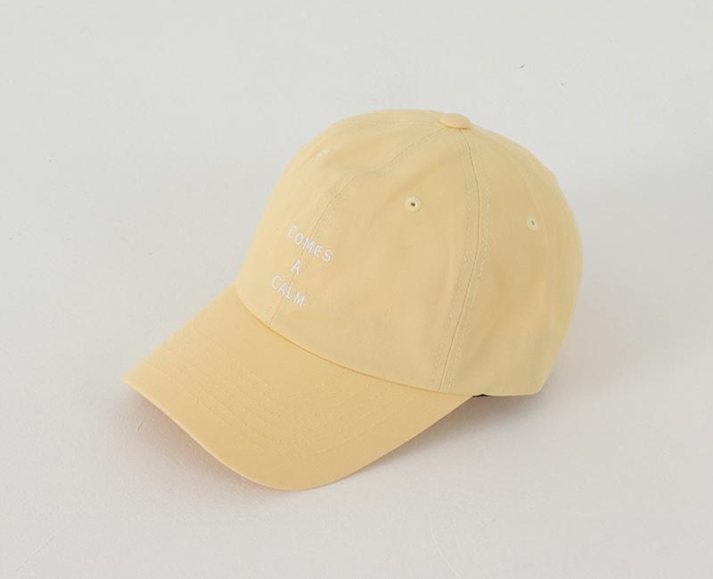 Pastel Lettering Ball Cap