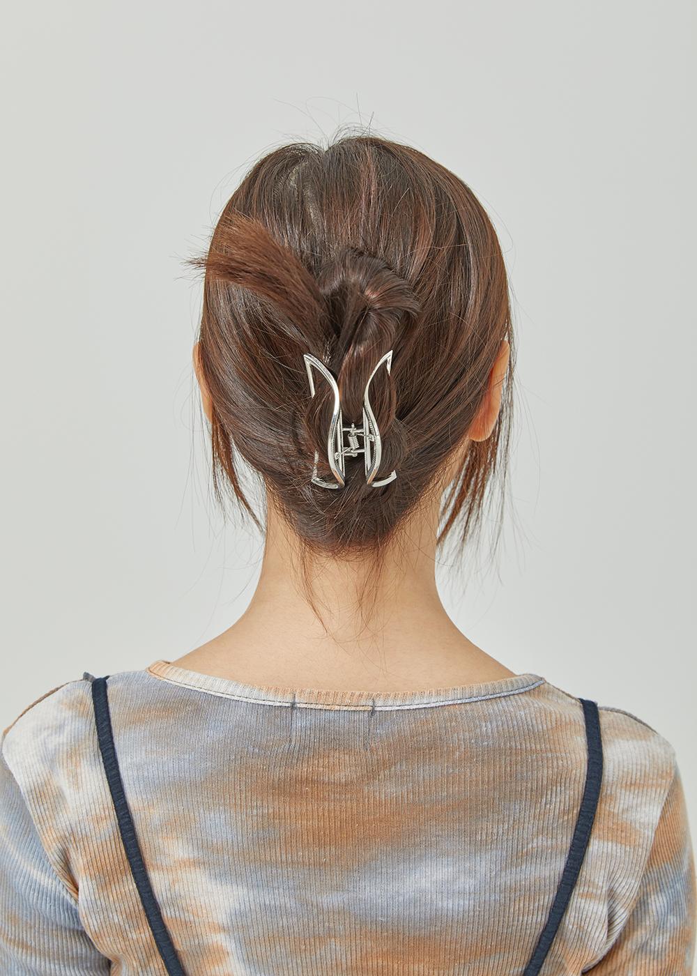 Half moon metal hair clippers