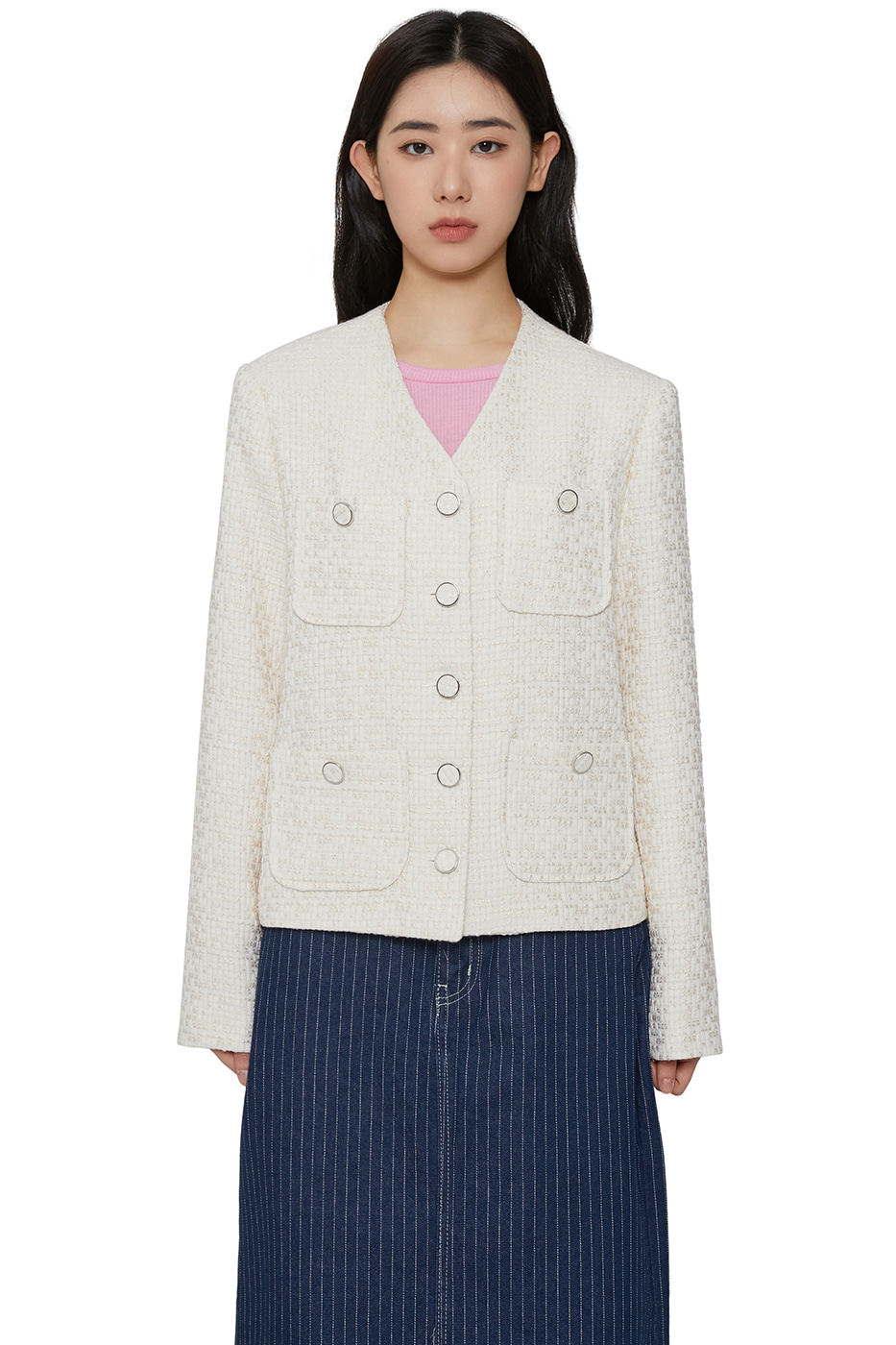 Remy Cararis tweed jacket
