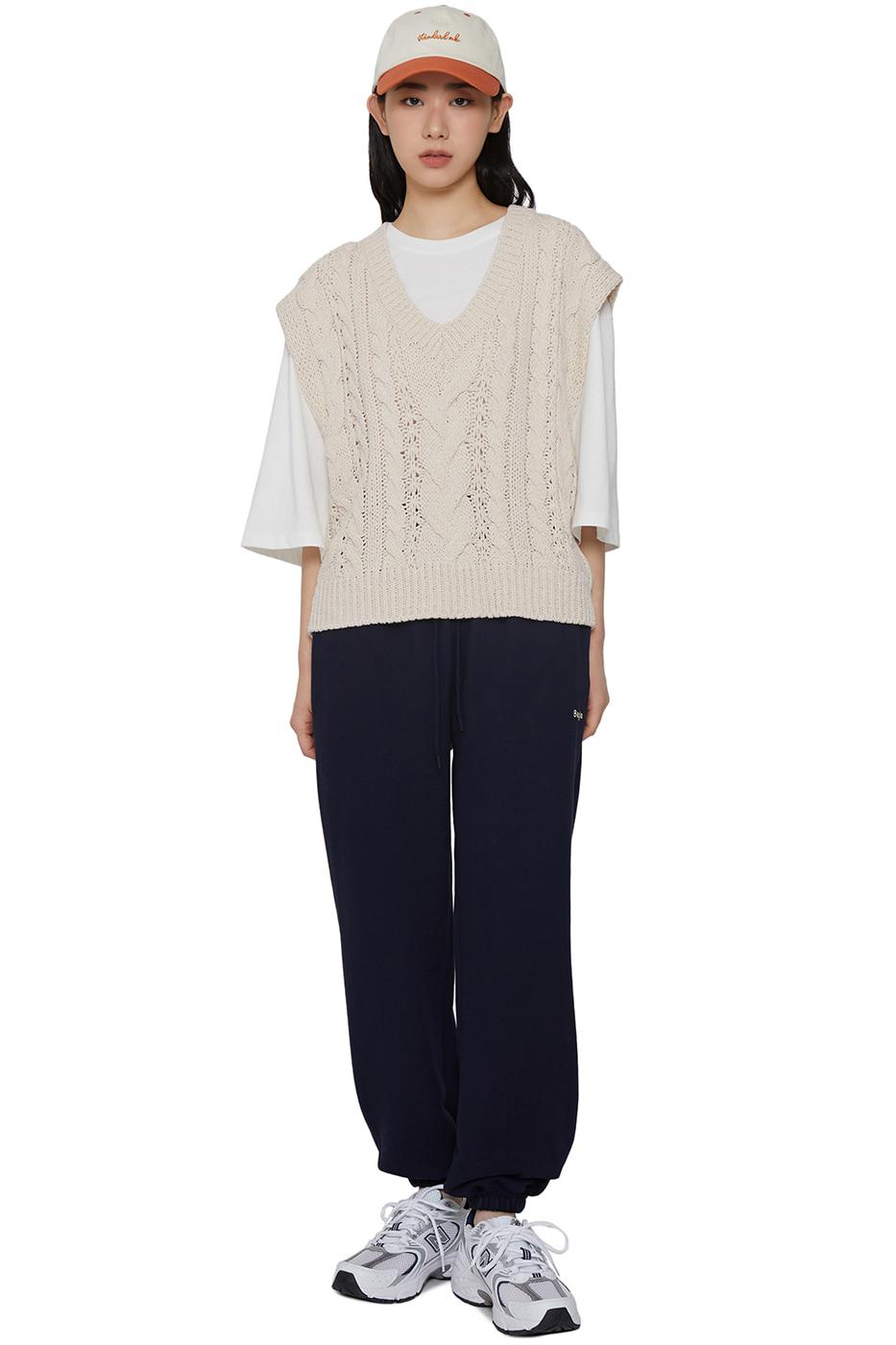 Humming Twist Knitwear Vest