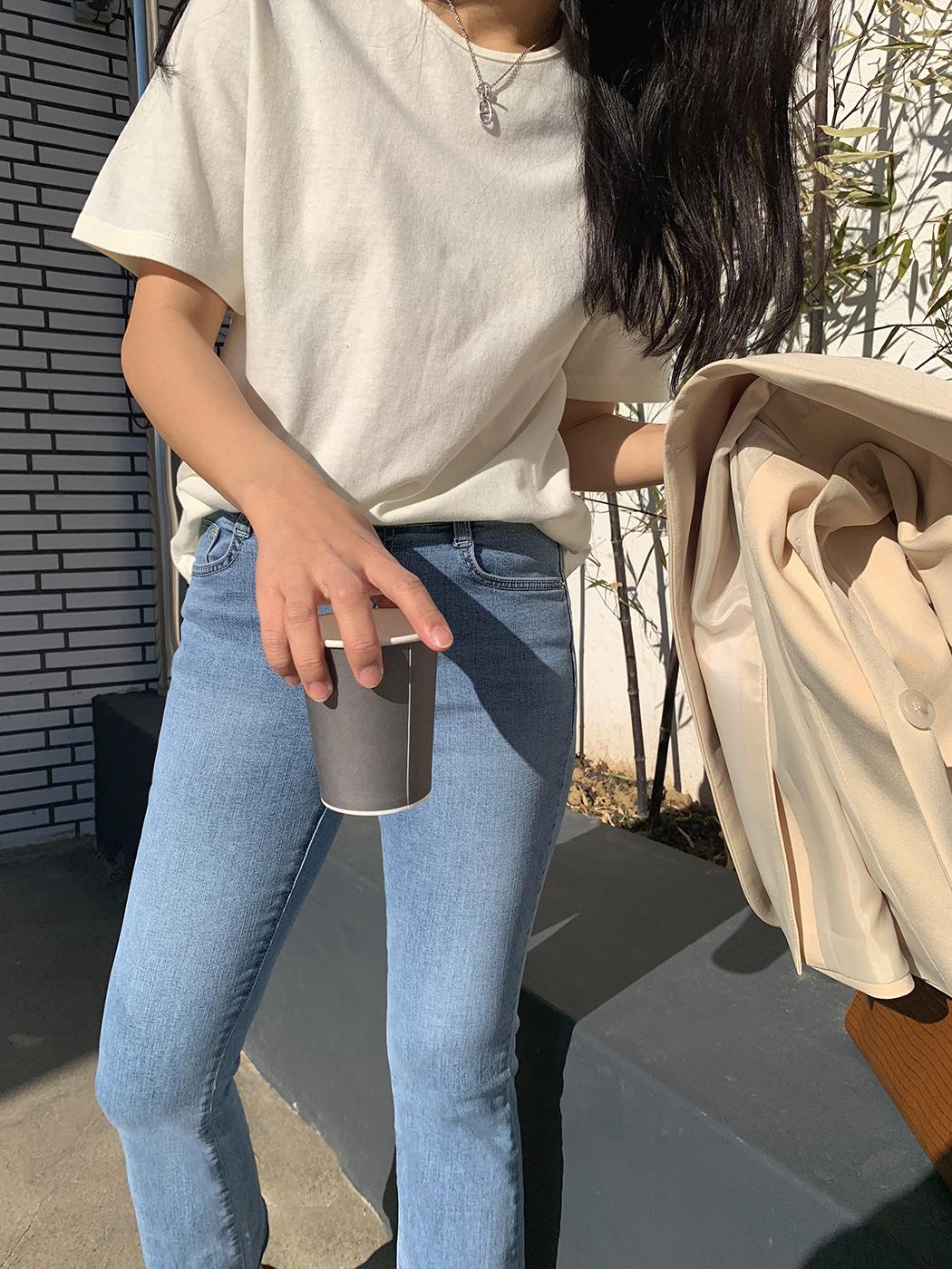 Warm Tone Round Short Sleeve Tee