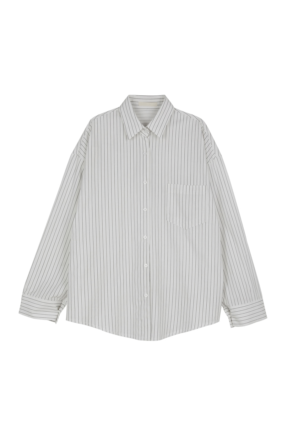 City striped shirt