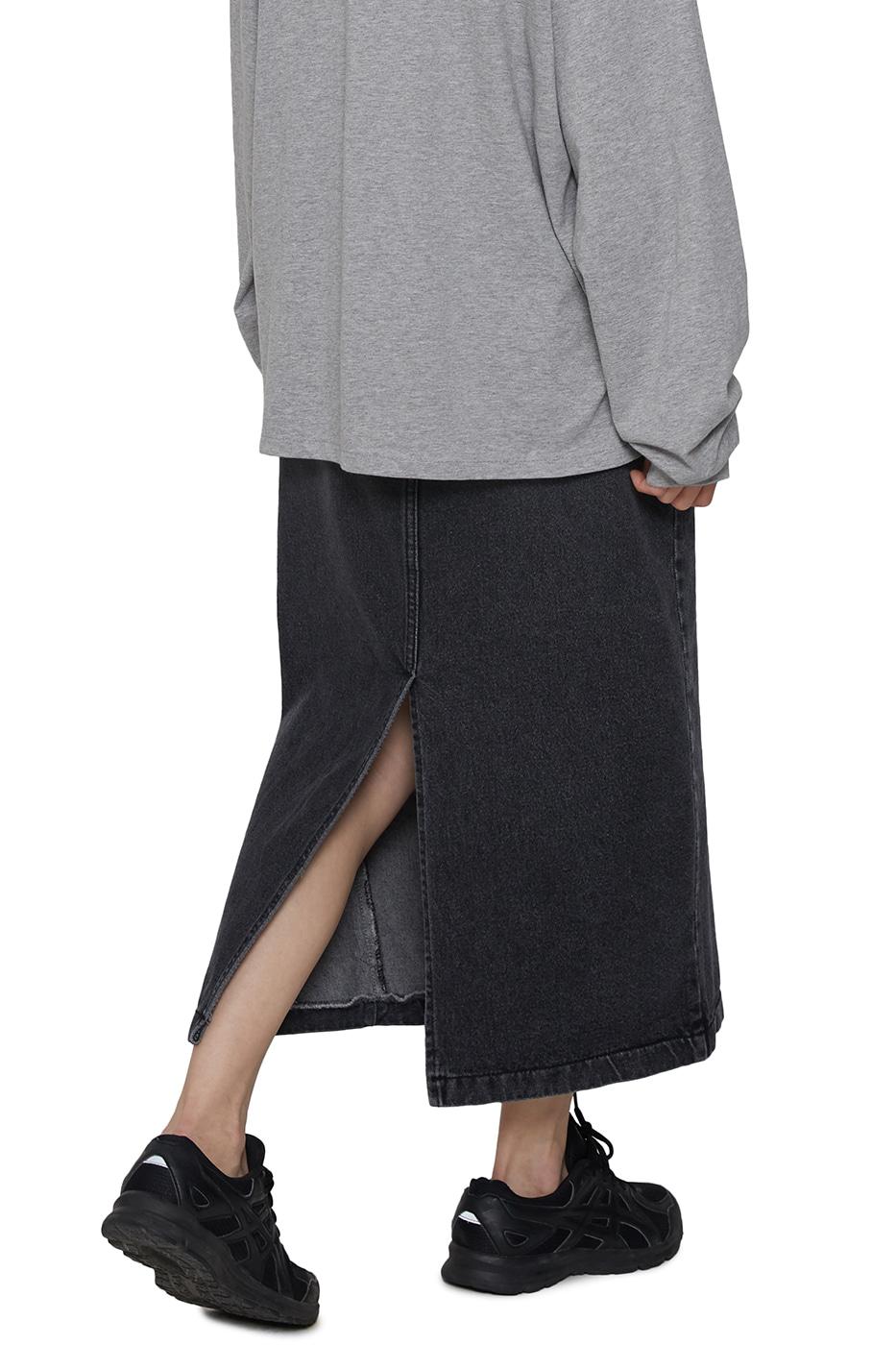 Essence denim maxi skirt