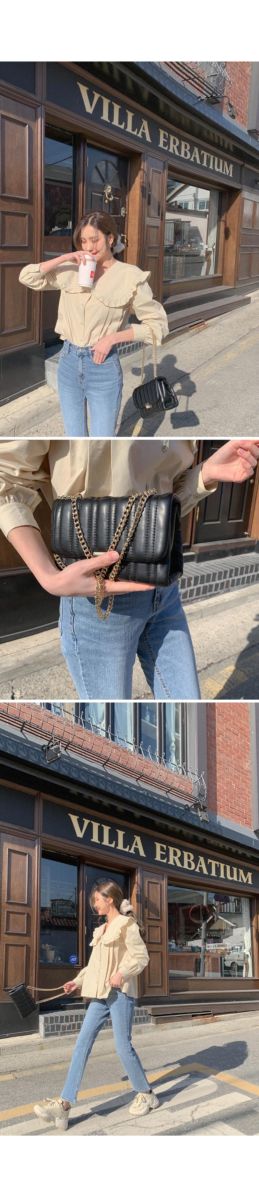 Qualting Chain Mini Bag