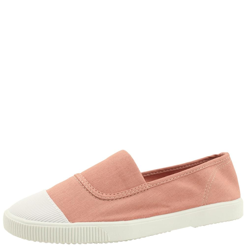 Canvas Shoes Cotton Slip-on Shoes Pink