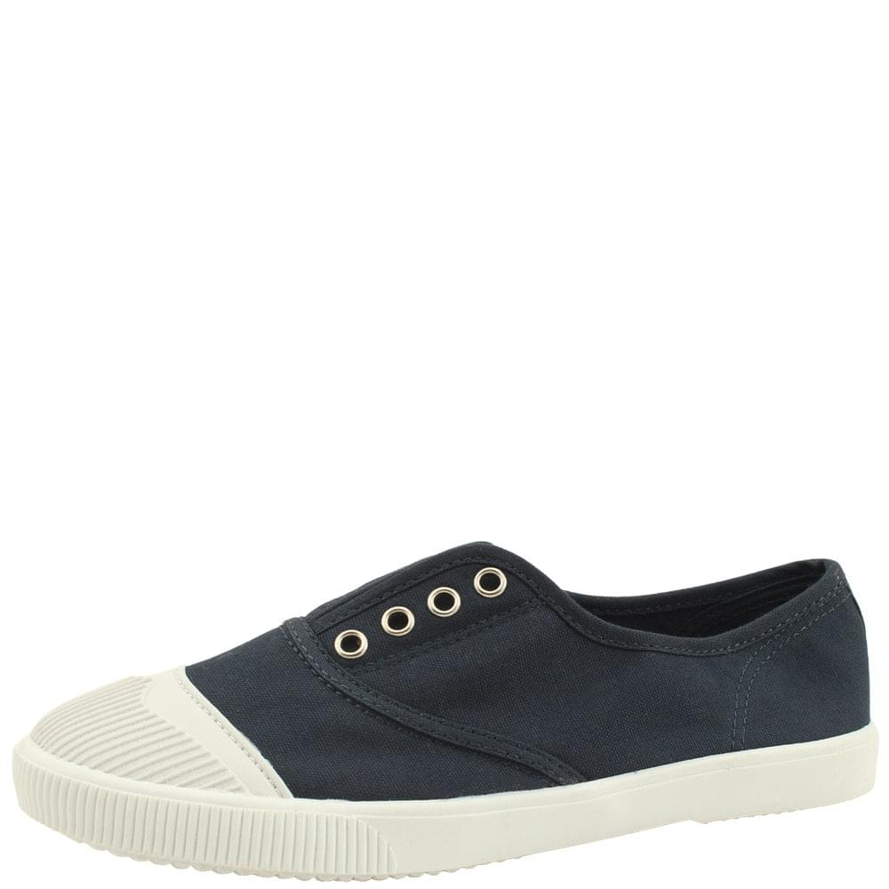 Canvas Shoes Cotton Casual Sneakers Navy