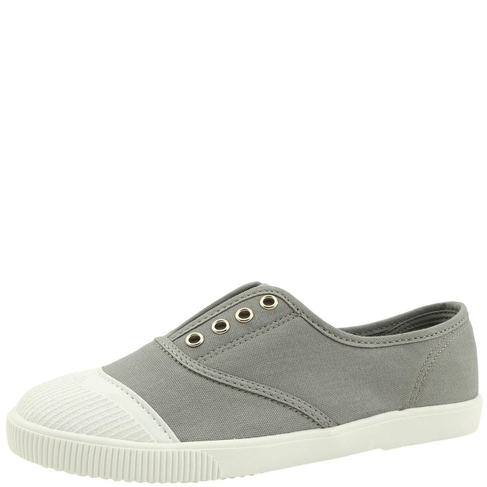 Canvas Shoes Cotton Casual Running Shoes Gray