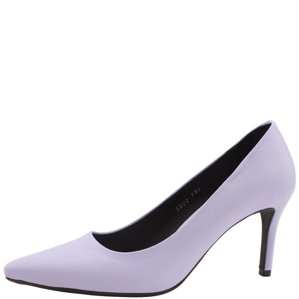 Simple Stiletto High Heels 6cm 8cm Purple