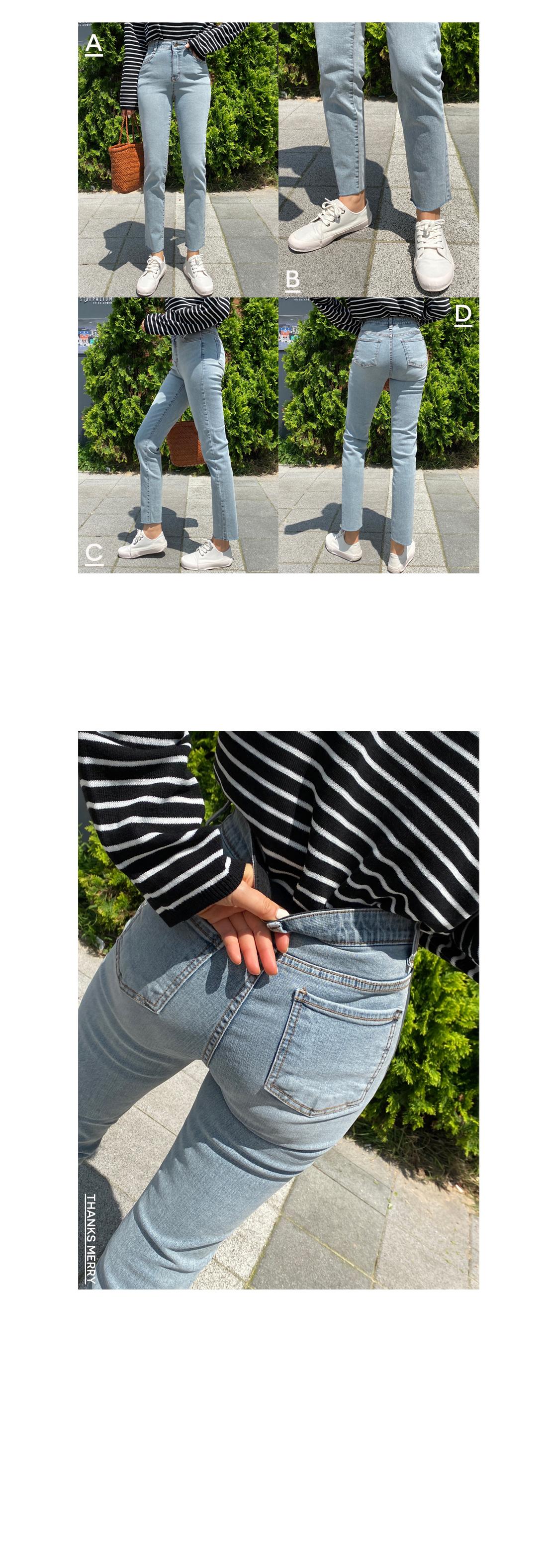 Gracie Light Blue Blue Slim Date Jeans