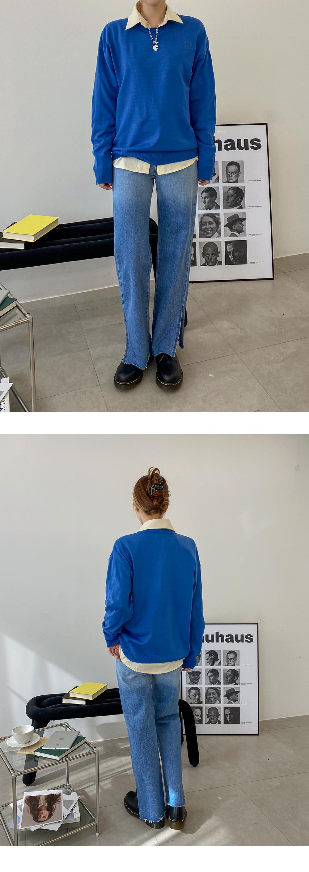 Harris Round Overfit Knitwear