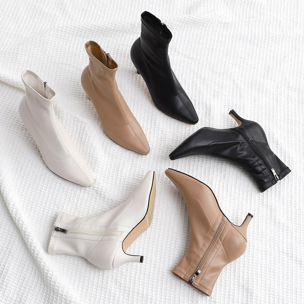 Isshu pointed nose ankle Socks boots 1883