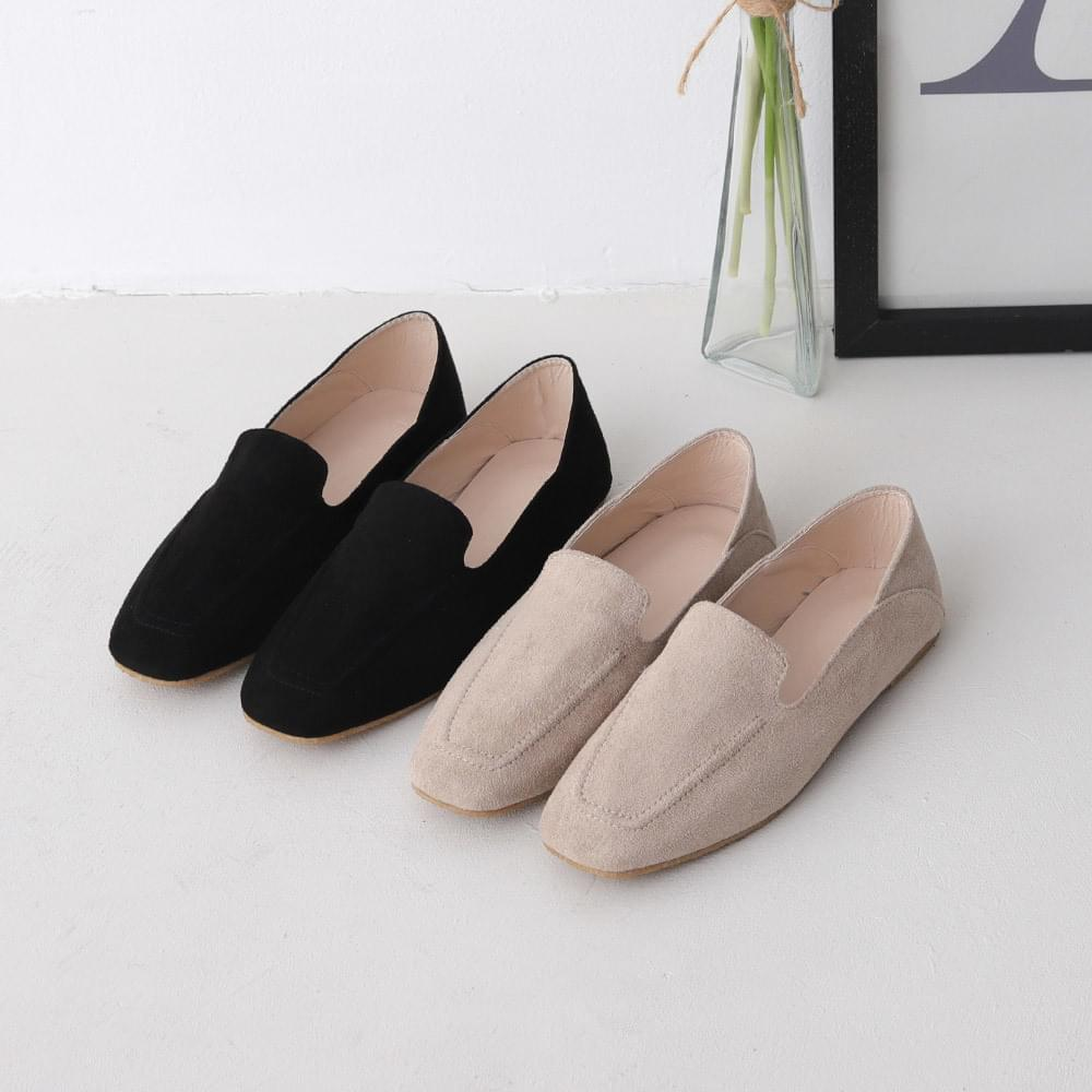 Isshu 2way suede loafers & blowers 9029