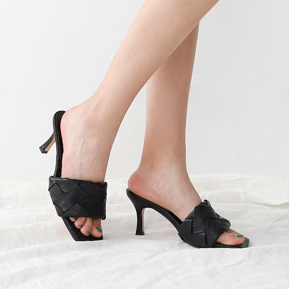 Isshu Cage Weaving Strap Suit Slippers Mule Sandals 5305 ♡3rd Sold Out♡
