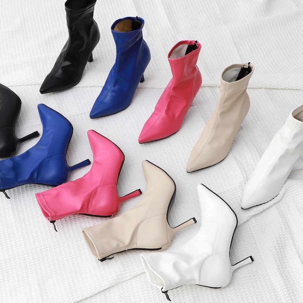 Isshu pointed nose Socks boots heel 1894