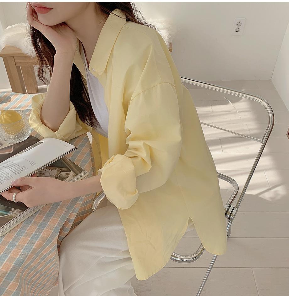 Linin Basic Collar Loose-fit Shirt