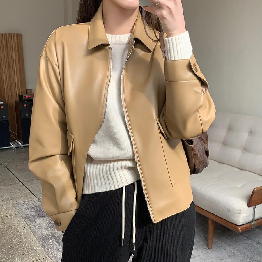 Nice Leather Jacket 夾克外套