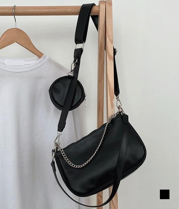 Multi-chain pochette crossbody bag (Delayed delivery)