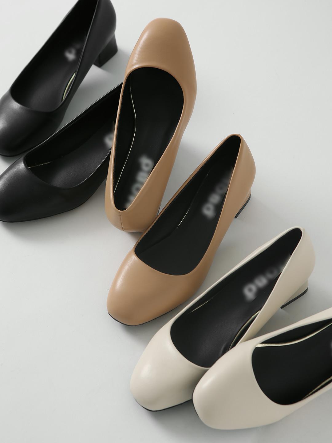 Rene full heel middle heel pumps PPLTR1d047