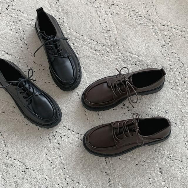 Derby Shoes Casual Shoes 3.5cm