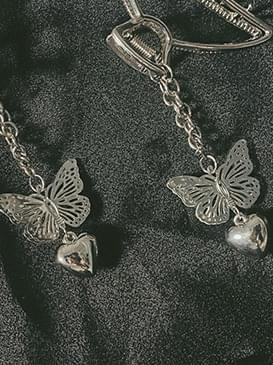 Butterfly metal pins