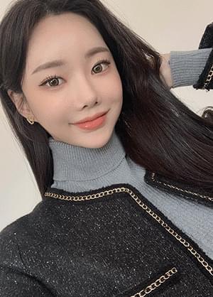 韓國空運 - Shiny Heart Earrings 耳環