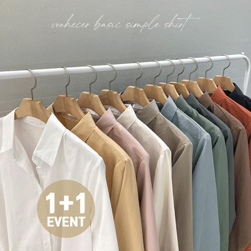 ♥ 1+1 discount ♥ 11color 4 season model collection basic daily common shirt T#YW739